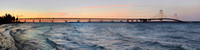 Mackinac Bridge (panoramic)