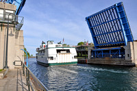Beaver Island Ferry: Memorial Bridge in Charlevoix