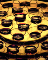 Communion cups: closeup